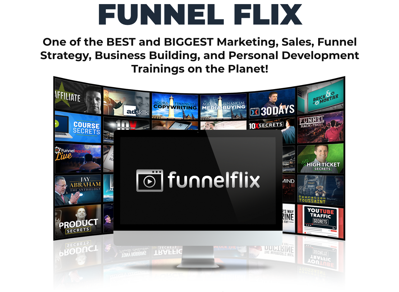 Funnelflix is one of the best and biggest business & personal development trainings on the planet.